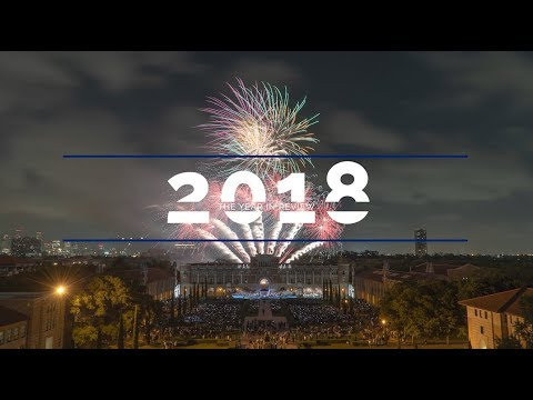 2018 at Rice University: A year of vision and accomplishments