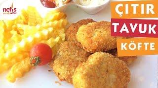 Nugget  (çıtır Tavuk Köfte)  - Köfte Tarifleri - Nefis Yemek Tarifleri