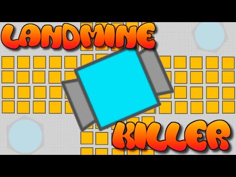 HOW TO DESTROY LANDMINES!! // Buffed Necromancer vs Landmine (Diep.io Tricks)
