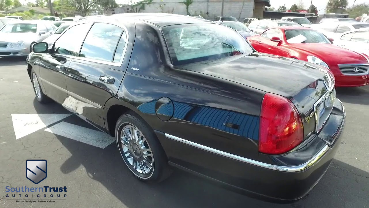 Live Video 2006 Lincoln Town Car Designer Series 647439 Southern