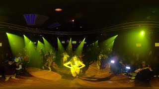 360° VR Video ZAFIRE LADIES DC Bachata Dance Performance At THE SALSA ROOM