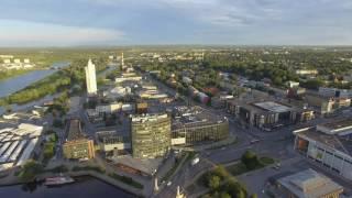 Tartu Linna Aeropanoraam Droonivideo (4K)