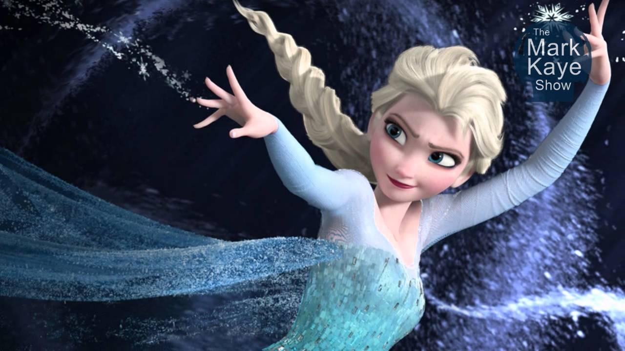 Disneys Frozen Movie Elsa Is Hot Dad Cant Let It Go -9659