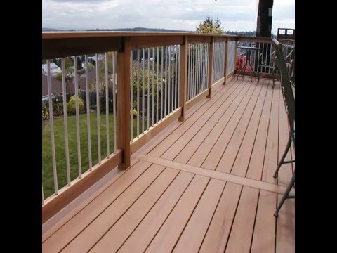 Waterproof Outdoor Deck Flooring Material Youtube