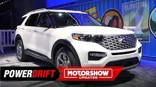 2020 Ford Explorer : The Trendsetter : 2019 Detroit Auto Show : PowerDrift