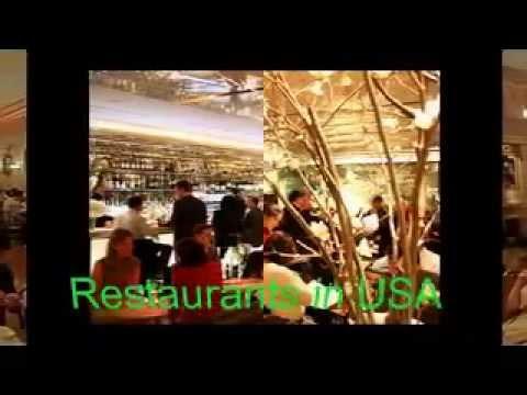 Restaurants in USA - 3 star michelin restaurants in usa - fast food restaurants in usa