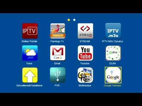 Amstrad F5 IPTV Uydu Alıcısı Menü Incelemesi Sineshop Com