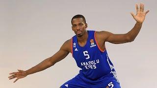 Turkish Airlines EuroLeague Round 10 MVP: Derrick Brown, Anadolu Efes Istanbul