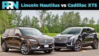 2019 Lincoln Nautilus vs 2019 Cadillac XT5 | Mid-Size Luxury Crossover Showdown
