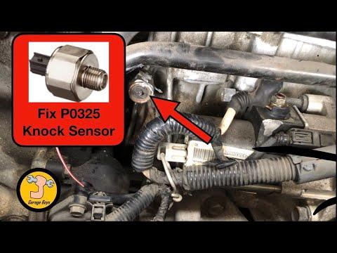 How To Remove Knock Sensor On 2007 Honda Accord – P0325 Fix