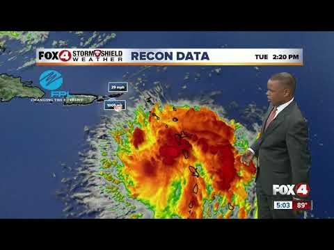 Tropical Storm Dorian Headed To Puerto Rico & The Dominican Republic