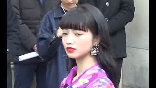 Nana KOMATSU 小松菜奈 @ Paris Fashion Week 7 march 2017 show Chanel...