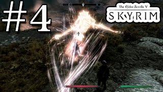 Skyrim Прохождение #4 - Первый дракон
