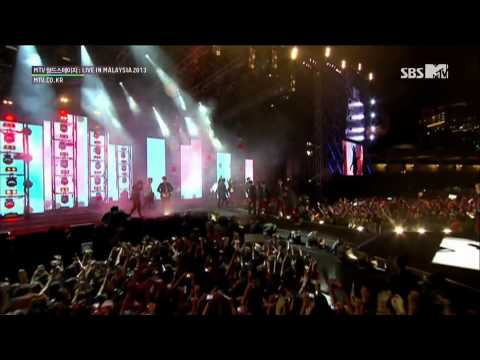 [EXO] Wolf + 3.6.5 + 으르렁 (Growl) 130927 MTV World Stage Live in Malaysia 2013