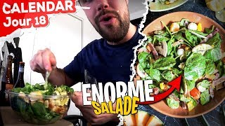 Dégustation d'une ÉNORME Salade... Qui me cale de fou ! - Jour 18