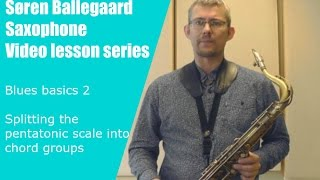 Blues basics 2   chord outline with a pentatonic scale