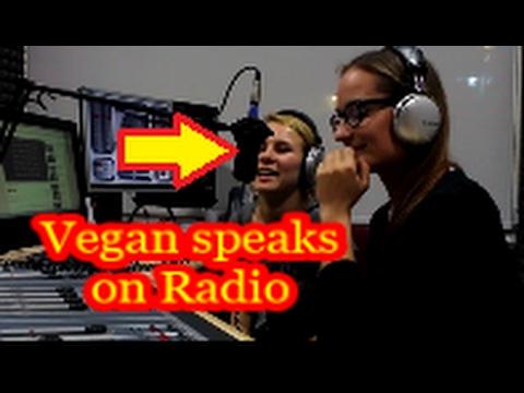 Vegan speaks on Cypriot Radio