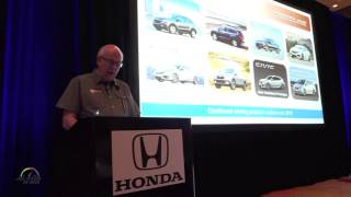 2017 Honda Ridgeline and Business Update by Jeff Conrad Sr. VP and GM Honda Division