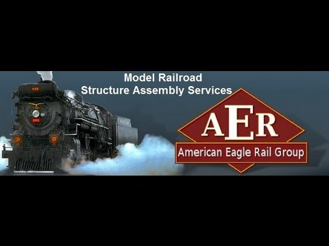 Custom Model Railroad Building & Painting Services
