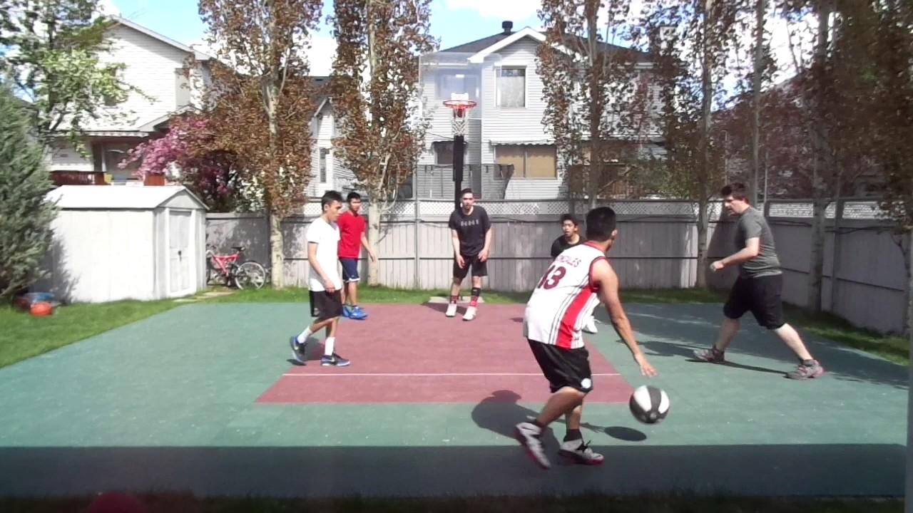 calgary backyard basketball game 3 05 20 17 youtube