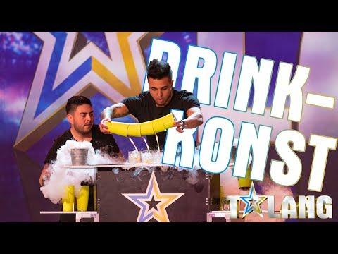 Luis Och Joses Drinkshow I Talang 2020