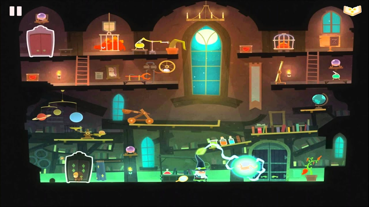Tiny Thief Bewitched Level 4 The Magic Bazaar (6-4) Walkthrough ...