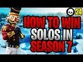How To EASILY WIN A Solo In Fortnite Season 7! (Fortnite How To Win Solo Tips)