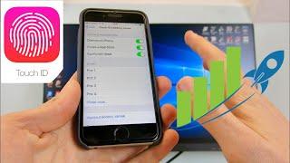 ✅ Jak si zrychlit a zpřesnit Touch ID?