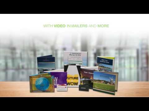 mix of video brochures