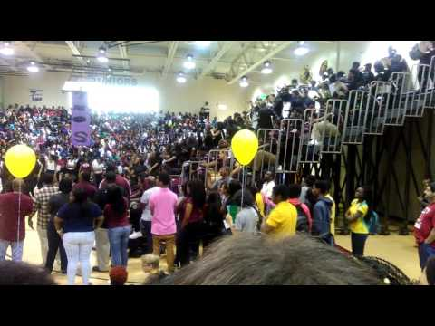 Palm Beach Lakes Senior class | 2017 Pep rally 2
