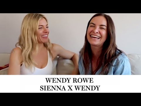 Exclusive Q&A with actress Sienna Miller // Wendy Rowe