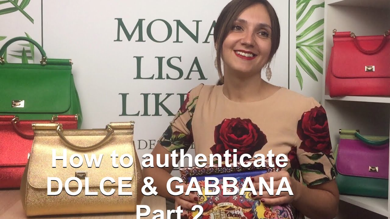 cb25b02388e1 How to spot FAKE vs AUTHENTIC Dolce   Gabbana Miss Sicily Bag Handbag Purse  Monalisalikes - part 2