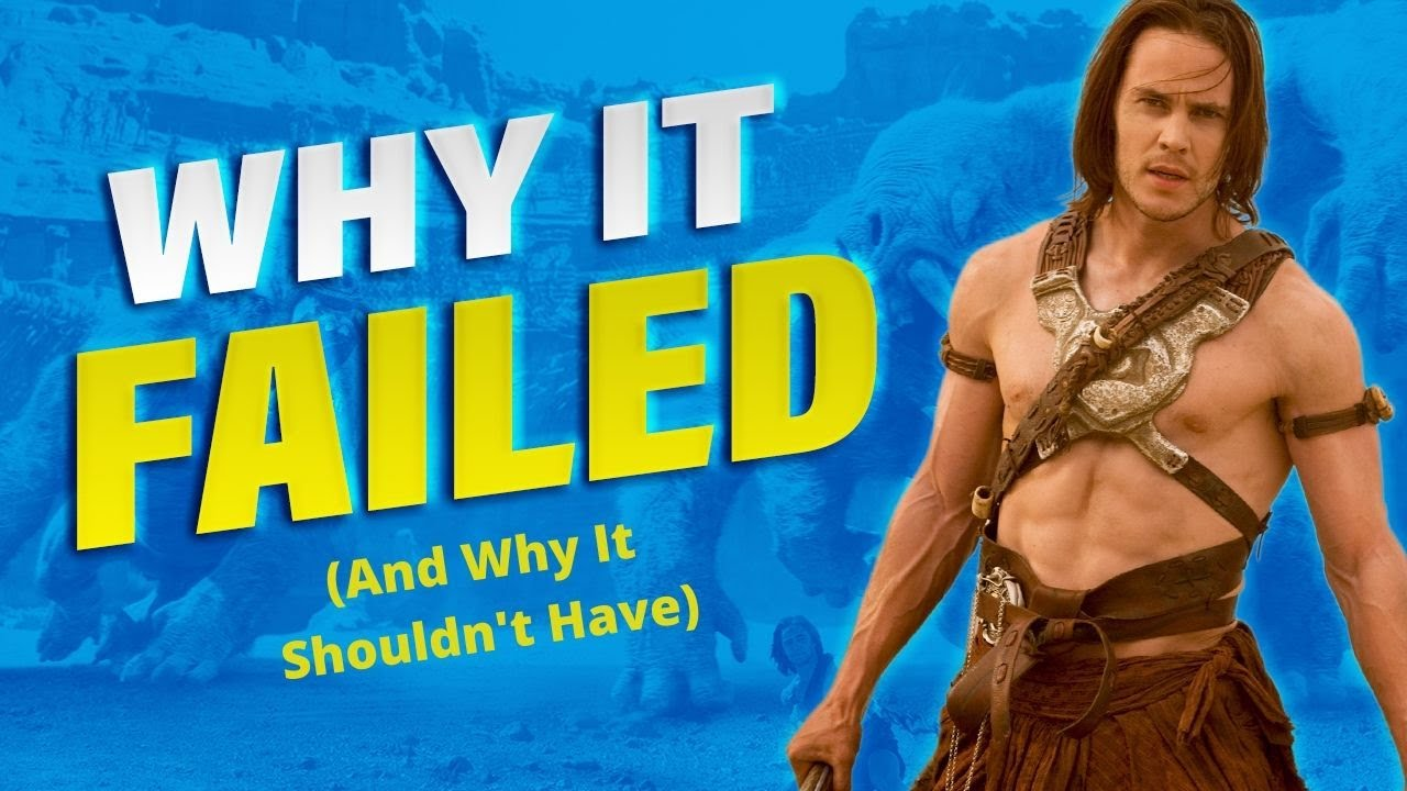 Download Why John Carter Failed - Did Disney Let It Happen?