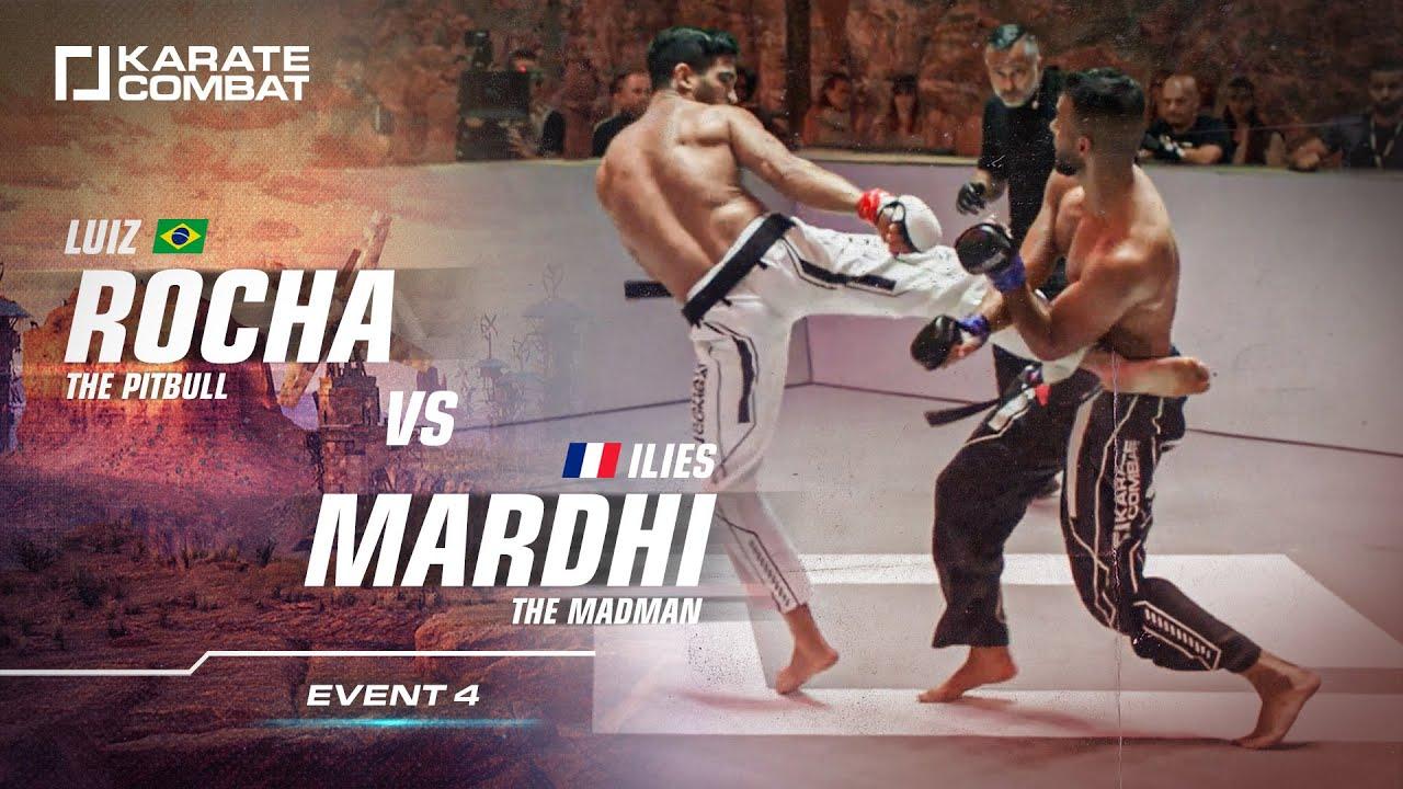 FULL FIGHT: Luis Rocha VS Ilies Mardhi - Karate Combat S02E04