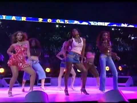 Destiny's Child Lose my breath Soldier (Live NBA All Stars ...