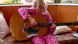 me playing the guitar