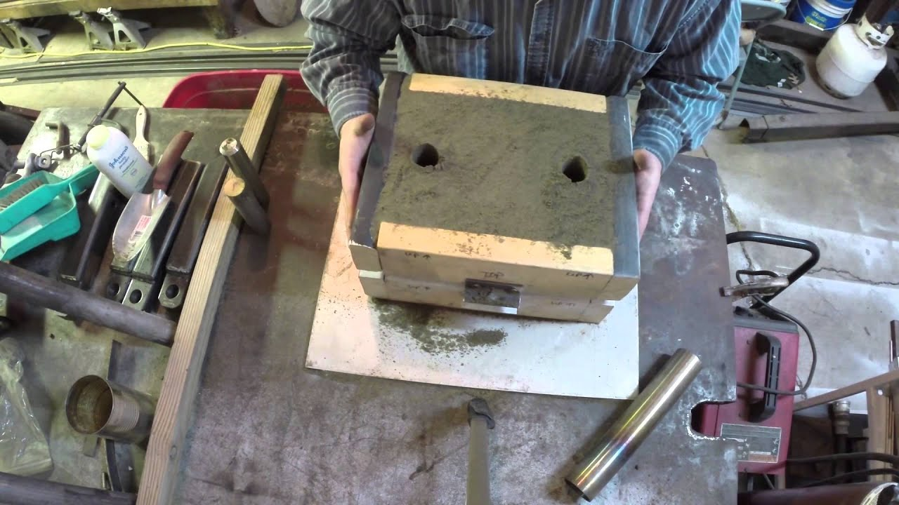 casting an aluminum water bowl youtube