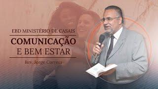 EBD Ministério de Casais - Comunicação e bem estar