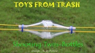Shooting twin  bottles   Kannada