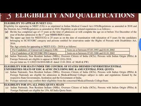 Eligibility criteria & qualifications examination code & Reservation.for more like Share &subscribe