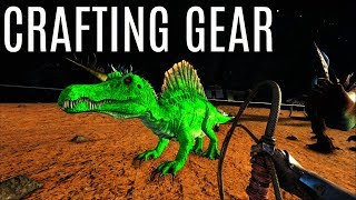CRAFTING SKILL GEAR and Spino Line - Official 6 Man Tribe - ARK Survival