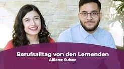 Lernenden-Alltag bei der Allianz Suisse!