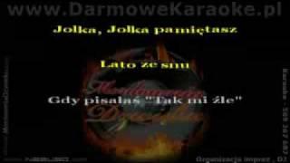 "Budka Suflera- ""Jolka,Jolka pamiętasz"" karaoke"