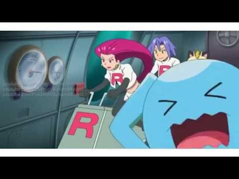 Pokémon Sun & Moon Episode 40 - Team Rocket Meets Dhelmise [English Subbed HD]