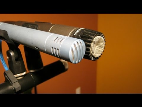Dynamic vs Condenser Microphones, SM57 vs P170