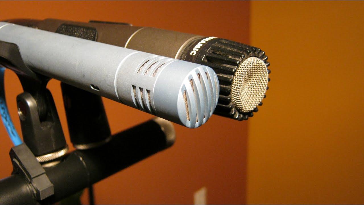 dynamic vs condenser microphones sm57 vs p170 youtube. Black Bedroom Furniture Sets. Home Design Ideas