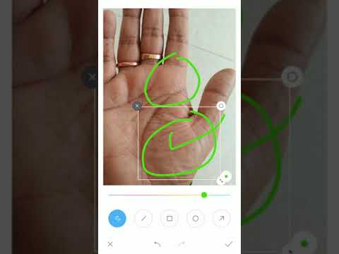 Temple sign on palm plus progress line,palmistry reading in hindi