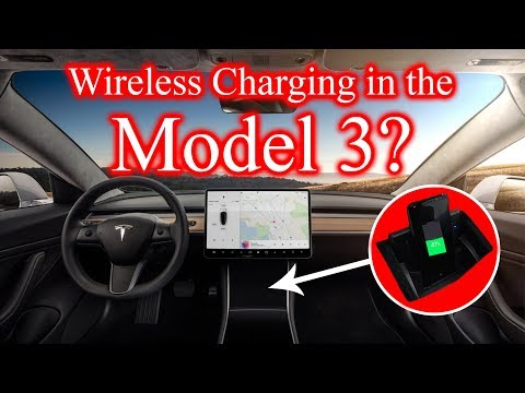 Wireless Charging in the Tesla Model 3?