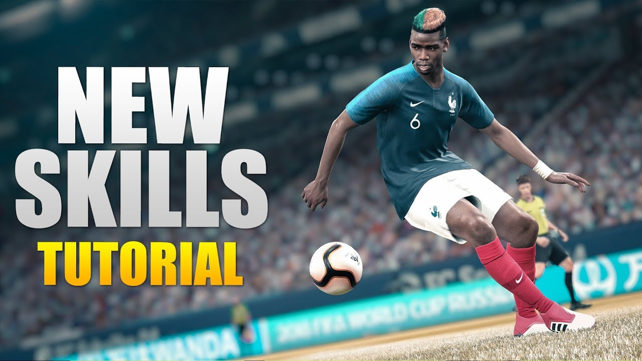 PES 2019 - Advanced & New Skills Tutorial