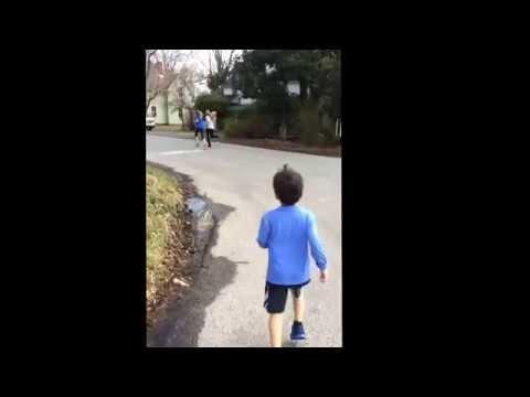 Carlo, Little runner, 5K race